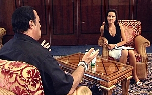 Steven Seagal – first time in Moscow