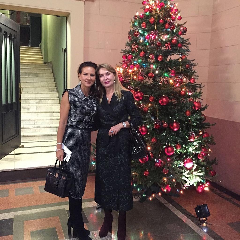 С подругой Марией Федун