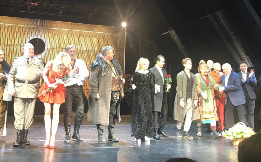 «Day of the Oprichnik» at Lenkom theatre