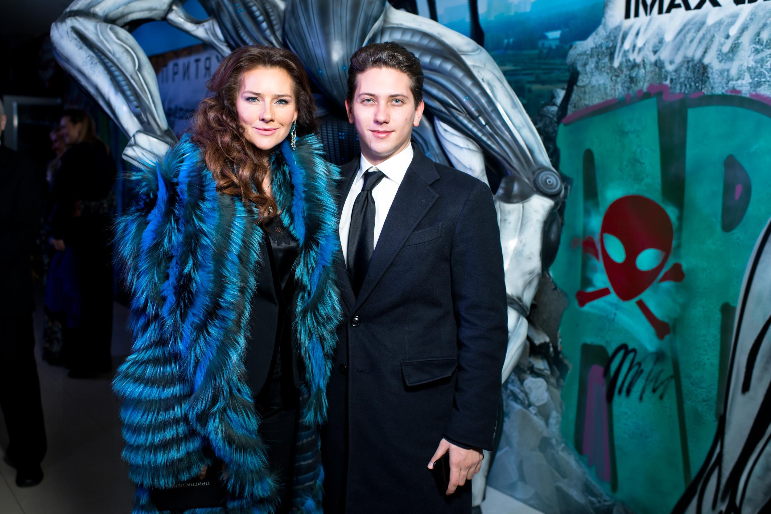 Елена Север с сыном ЮрКисс