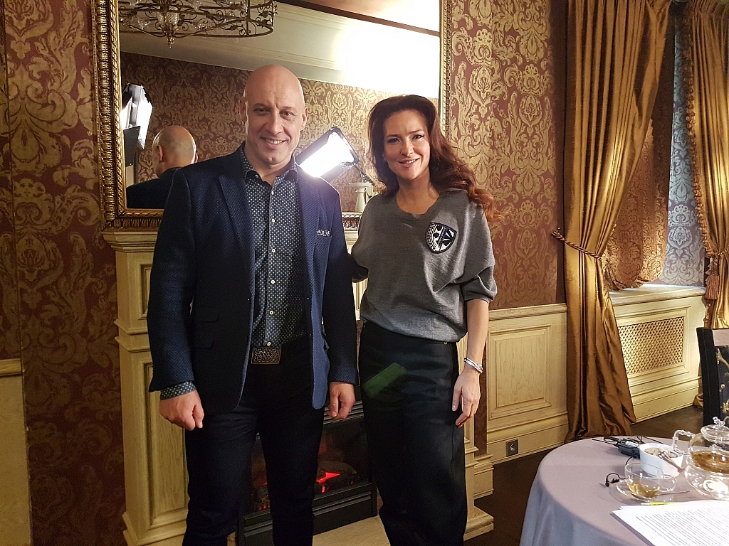Елена Север и Денис Майданов