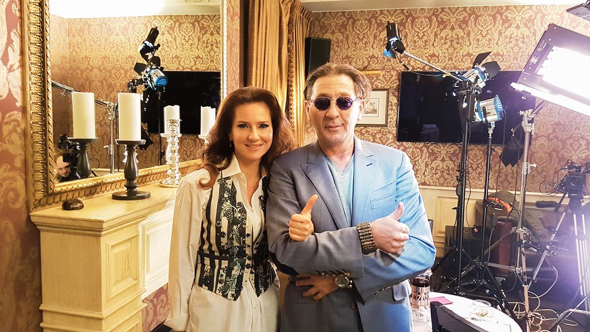 Елена Север и Григорий Лепс