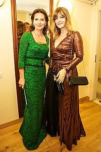 Elena Sever and Nastassja Kinski