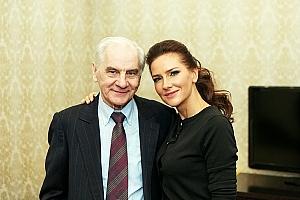 Елена Север и её отец