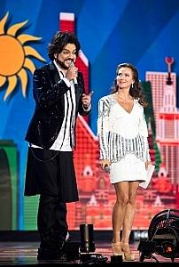 На сцене с Филиппом Киркоровым
