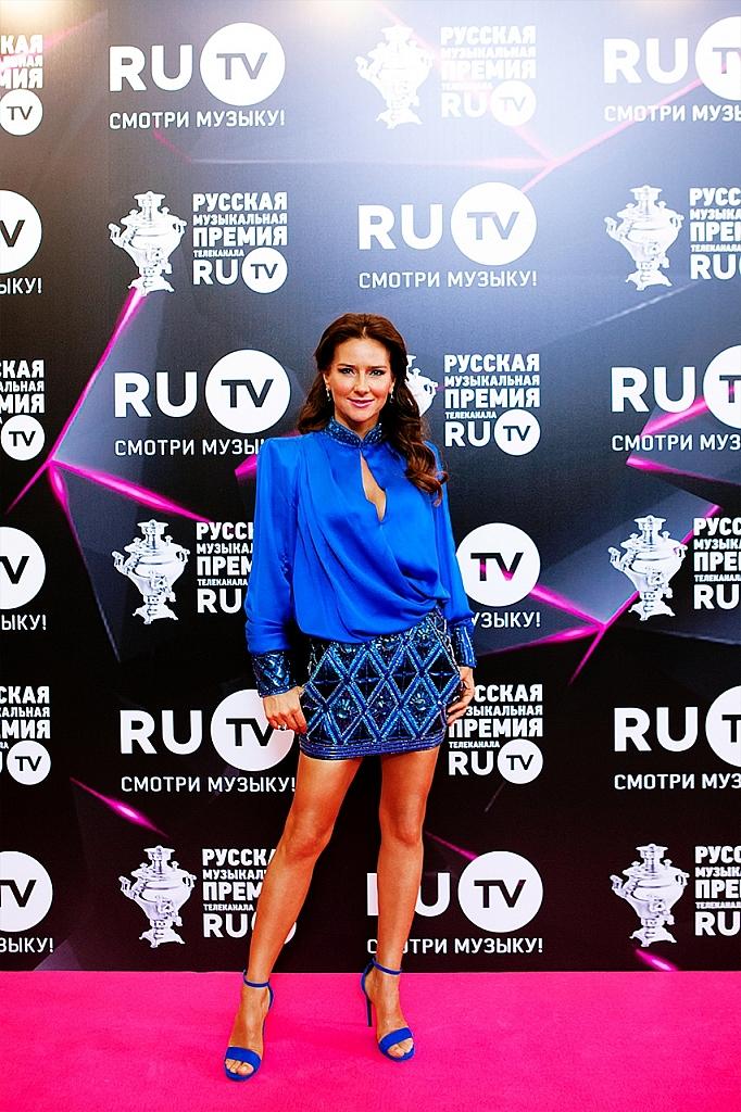 Елена Север на премии RU.TV