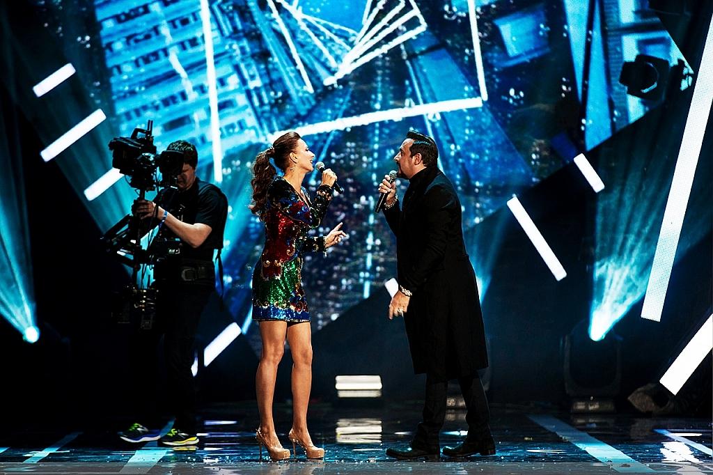 Елена Север и Стас Михайлов на премии РУ ТВ