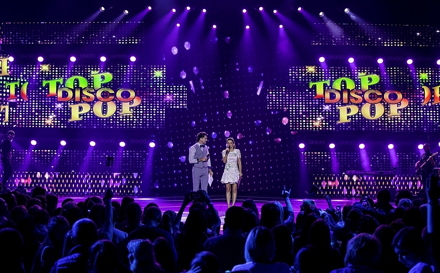 «TOP DISCO POP» show is back!