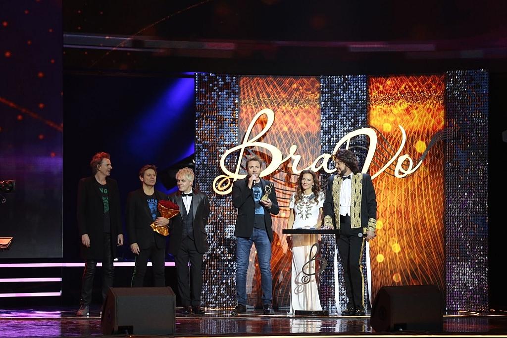 DuranDuran на церемонии награждения премии BraVo