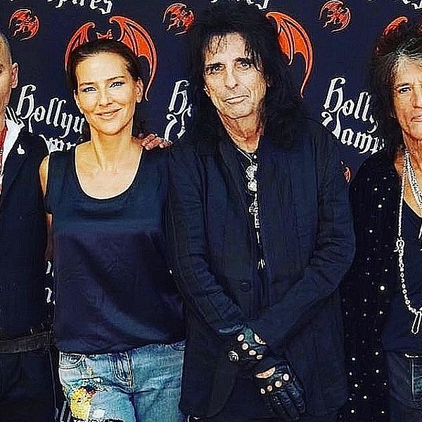 Джонни Депп в составе Hollywood Vampires