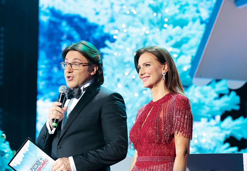 Елена Север и Андрей Малахов ведущие Русского Рождества 2019