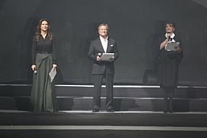 Елена Север, Сергей Шакуров и Анастасия Мельнкова