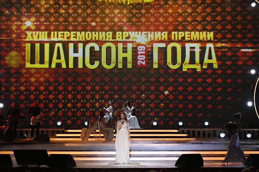 """Елена Север на премии """"Шансон года"""""""